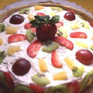 Exotický jogurtový dort recept