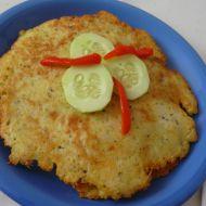 Havířská bramborová placka recept