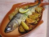 Makrely plněné bylinkovým tvarohem recept