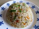 Rýže natural s čínskou zeleninou recept