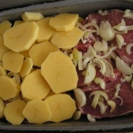 Zapečené vepřové maso na smetaně recept