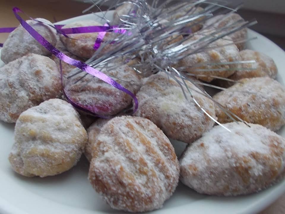 Vánoční cukroví (s pomocí vidličky) recept