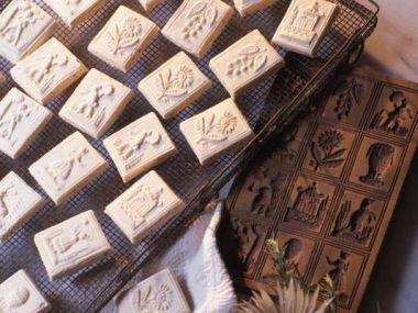 Švábské figurky jako cukroví i jako ozdoba