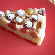 Tvarohový koláč s třešněmi recept