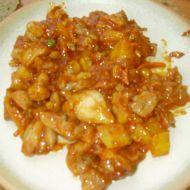 Marinovaná čína s ořechy recept