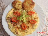 Zapečený květák jako omeleta recept
