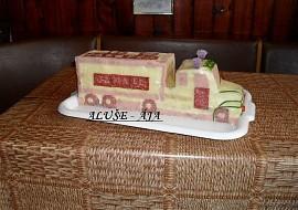 Slaný dort  kamion recept