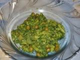 Kari brokolice s hráškem recept