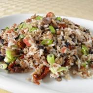 Rýžová směs se žampiony recept