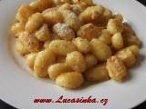 Rychlé gnocchi s parmezánem recept