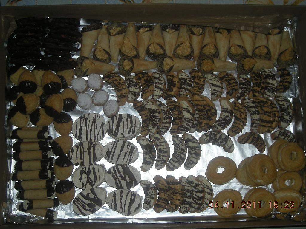 Dort okno + svatební cukroví recept