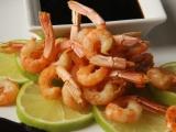 Zauzené krevety s balsamikovou omáčkou recept