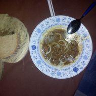 Česnekový vepřový guláš recept