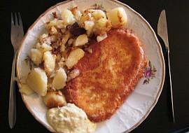 Fajnový smažený sýr  modifikace recept