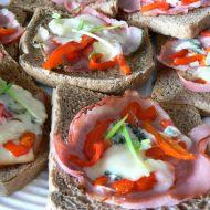 Toasty s nivou recept