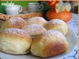 Kynuté buchty plněné marmeládou recept