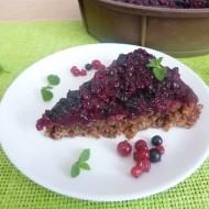 Rybízový koláč z ovesných vloček recept