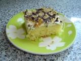 Ananasové řezy s čokoládovou mřížkou recept