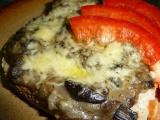 Smetanové houby se sýrem recept