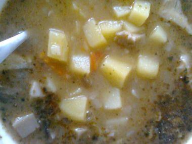 Bramborová polévka podle babičky