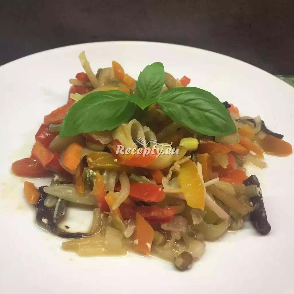 Grilovaná zelenina v troubě recept  fitness recepty