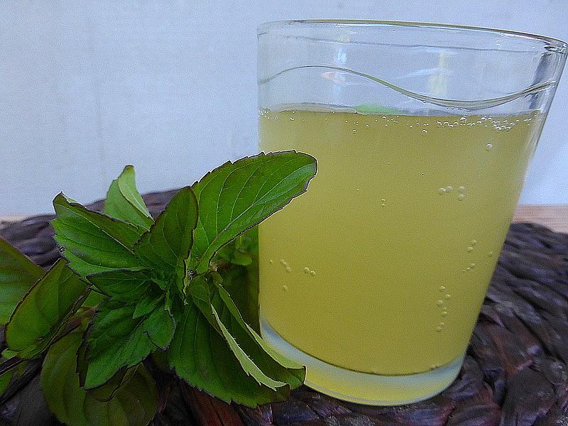 Mátová Tibi limonáda recept