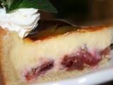 Švestkový koláč s vanilkovým krémem recept