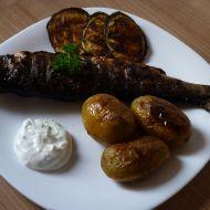 Pikantní grilovaný pstruh recept