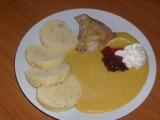 Svíčková z kuřete recept