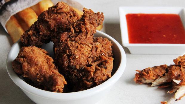 Kuřecí křídla KFC