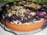 Borůvkový koláč speciál recept