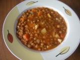 Dietní čočková polévka recept