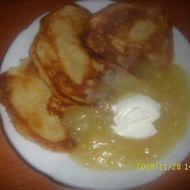 Palačinky s jablkovým krémem recept