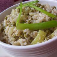 Sýrová rýže se zeleninou recept