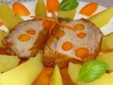 Vepřová kýta protýkaná mrkví recept