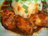 Pečená kuřecí křídla v pikantní omáčce recept
