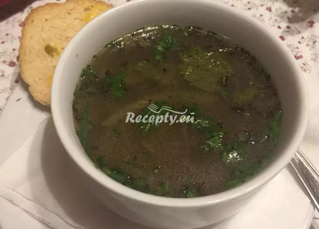 Francouzská cibulačka recept  polévky