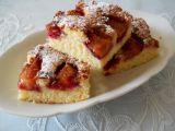 Švestkový koláč bez droždí  hrnkový recept