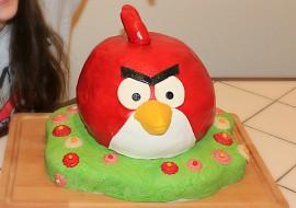 Dort ANGRY BIRDS  RED recept
