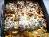 Kapr na bramborách. recept