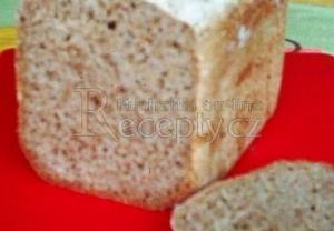 Celozrnný chléb s pšeničnou moukou