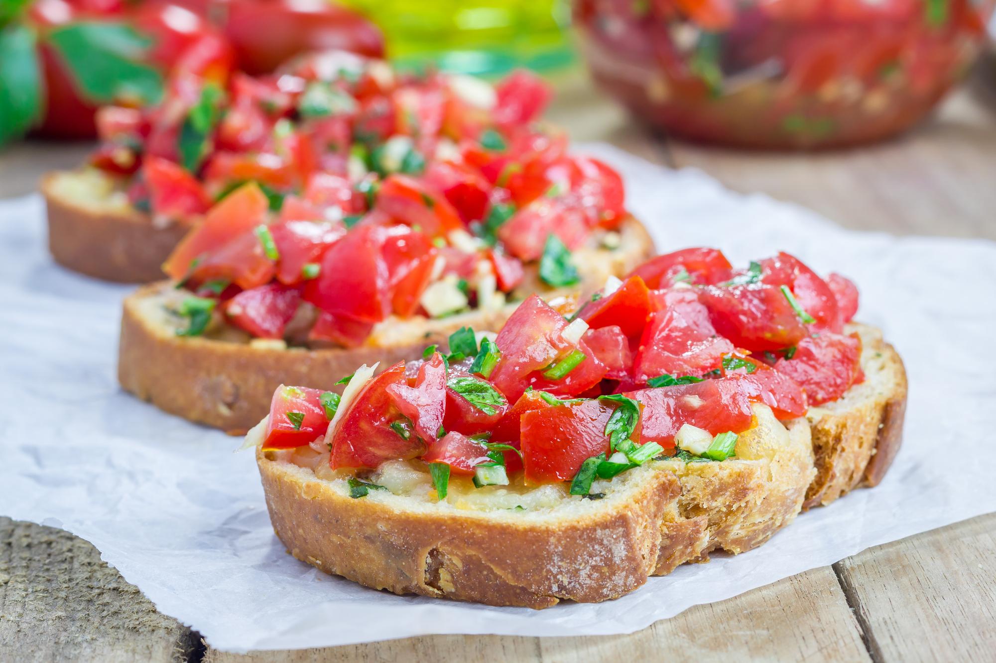 Rajčatový apetájzr recept