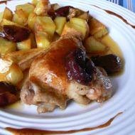 Švestkové kuře recept