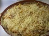 Zapečené špagety se zeleninou recept