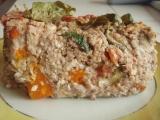 Pohankový nákyp se zeleninou a bazalkou recept