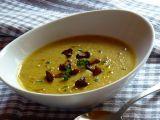 Polévka z červené čočky s liškami recept