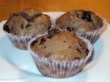 Čokoládové muffiny jednoduché recept