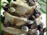 Třípatrový Mořský dort s mušlemi recept
