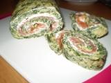 Špenátová rolka recept
