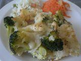 Zapečená brokolice s těstovinama recept